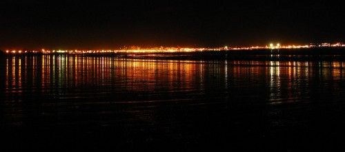 Puerto Madryn Night Lights Color